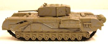 Oxford Diecast 76CHT003  Churchill Tank 142 RAC Tunisia 1943