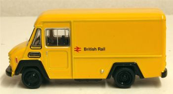 Oxford Diecast 76CWT002  Commer Walk Thru Van British Railways Yellow