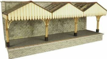 Metcalfe PO341  Wall Backed Platform Canopy 00/H0