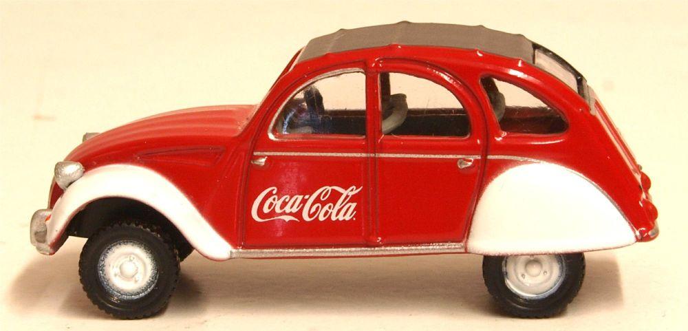 Oxford Diecast 76CT007CC  Citroen 2CV Coca Cola