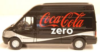 Oxford Diecast 76FT017CC  Ford Transit LWB High Roof Coke Zero