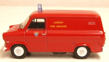 Oxford Diecast 76FT1003  Ford Transit Mk1 London Fire Brigade