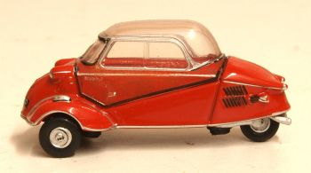 Oxford Diecast 76MBC001  Messerschmitt KR200 Bubble Car Rouge Sarde