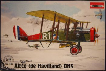 Roden PKROD422  de Havilland D.H.4 Eagle 1:48