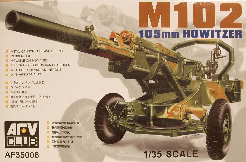 AFV Club AF35006  M102 105mm Howitzer 1:35