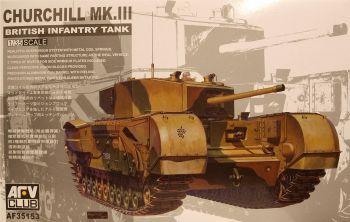 AFV Club AF35153  Churchill Mk III Infantry Tank 1:35