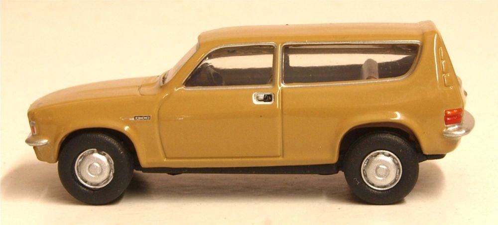 Oxford Diecast 76ALL003  Austin Allegro Estate Harvest Gold