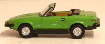 Oxford Diecast 76TR7001  Triumph TR7 Convertible Triton Green