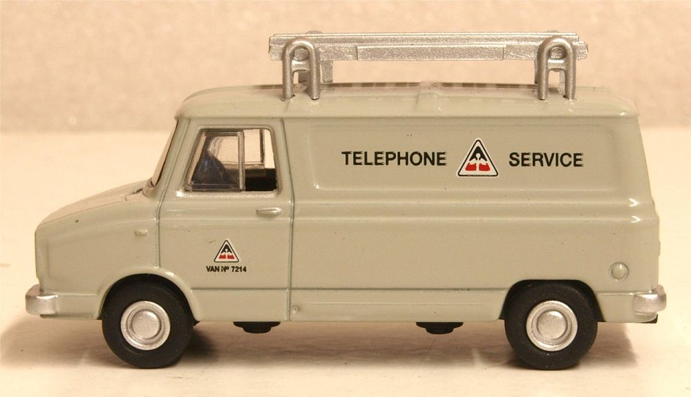 Oxford Diecast 76SHP007  Sherpa Van Telephone Service