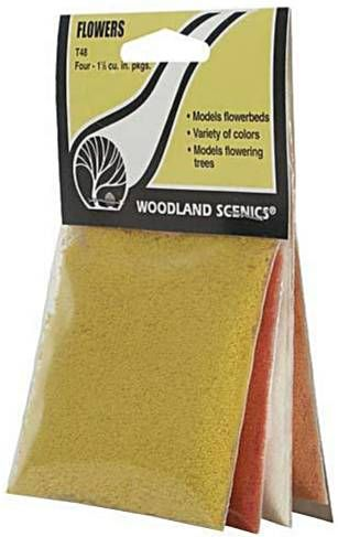 Woodland Scenics T48  Flowers (4 colours)