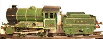 Hornby 501-SU  LNER 0-4-0 Tender loco type 501 (revised body) clockwork