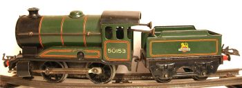 Hornby 51-SU  BR 0-4-0 Tender loco type 51 (Updated mechanism) clockwork