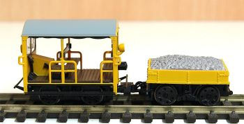 Branchline 32992  BR Wickham Trolley car (yellow)