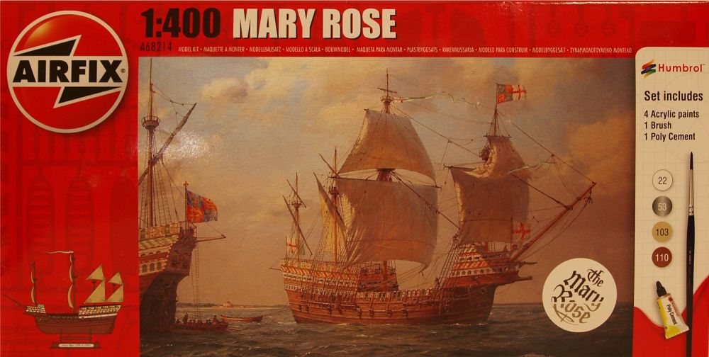 Airfix A68214  Mary Rose  Starter Set 1:72