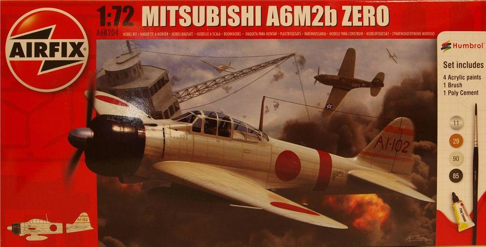 Airfix A68204  Mitsubishi A6M2b Zero  Starter Set 1:72