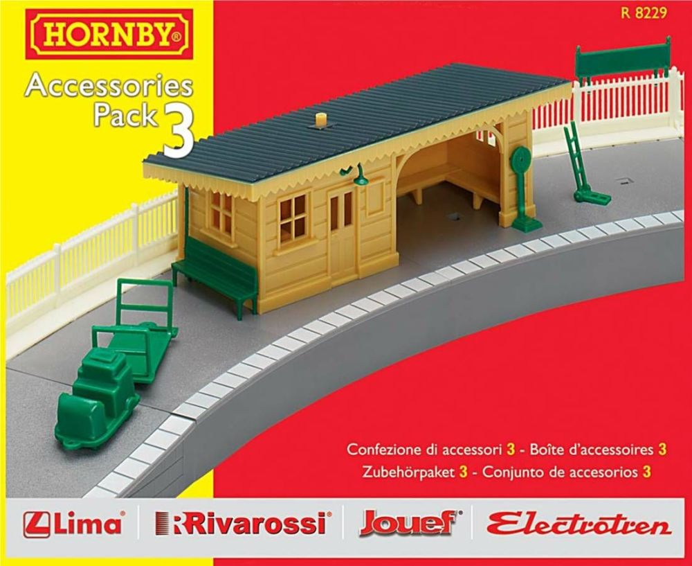 Hornby R8229  TrakMat Accessories Pack 3