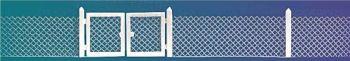 Busch 6019  Wire mesh fencing 'HO/OO'