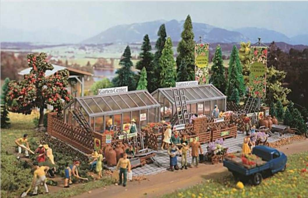 Vollmer 43644  Garden center HO