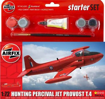 Airfix A55116  Hunting Percival Jet Provost T.4 Starter Set 1:72