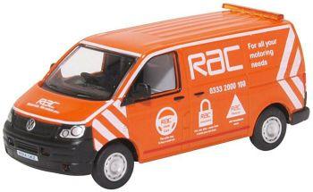 Oxford Diecast 76T5V001  VW T5 Van RAC