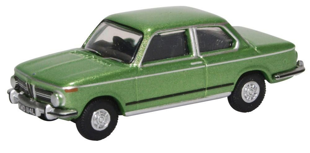 Oxford Diecast 76BM02003  BMW 2002 Taiga Green
