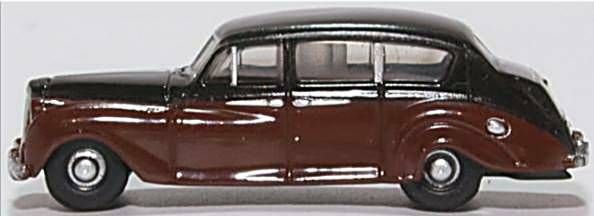 Oxford Diecast NAP004  Austin Princess (late) Black/royal Claret