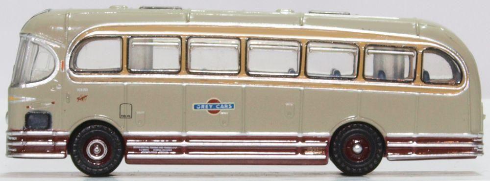 Oxford Diecast NWFA002  Weymann Fanfare Grey Cars