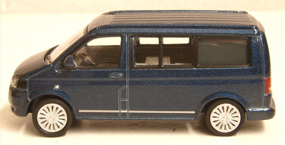 Oxford Diecast 76T5C001  VW T5 California Camper Metallic Night Blue