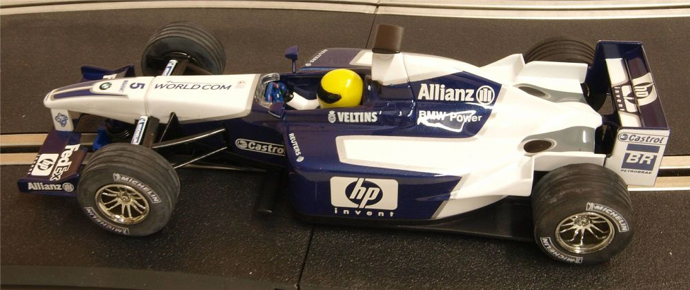 """Scalextric C2417  Williams BMW F1 """"Ralf Schumacher"""" """"Veltins"""" 1:32"""