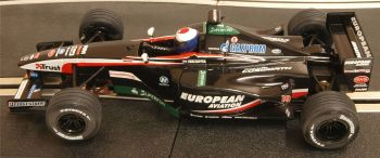 "Scalextric 6128  Minardi Cosworth PS03 F1 Malaysia ""Jos Verstappen"" 1:32"