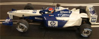 "Scalextric 6108. Williams BMW FW23 F1 ""Gené 2002"""