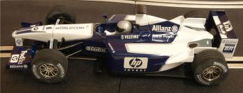 "Scalextric C2418  Williams BMW F1 ""Juan Pablo Montoya"" ""Veltins"" 1:32"