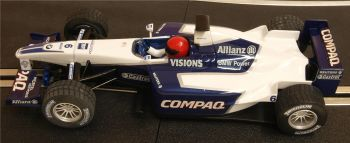 "Scalextric C2335  BMW Williams F1 FW23 ""Juan Pablo Montoya"" 2001 Limited Edition 1:32"