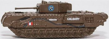 Oxford Diecast NCHT002  Churchill Tank 1st Canadian Army Brg Dieppe 1942