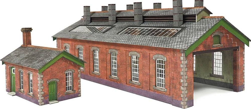 Metcalfe PN913  Engine shed (double track)