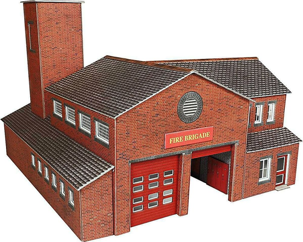 Metcalfe PO289  Fire Station