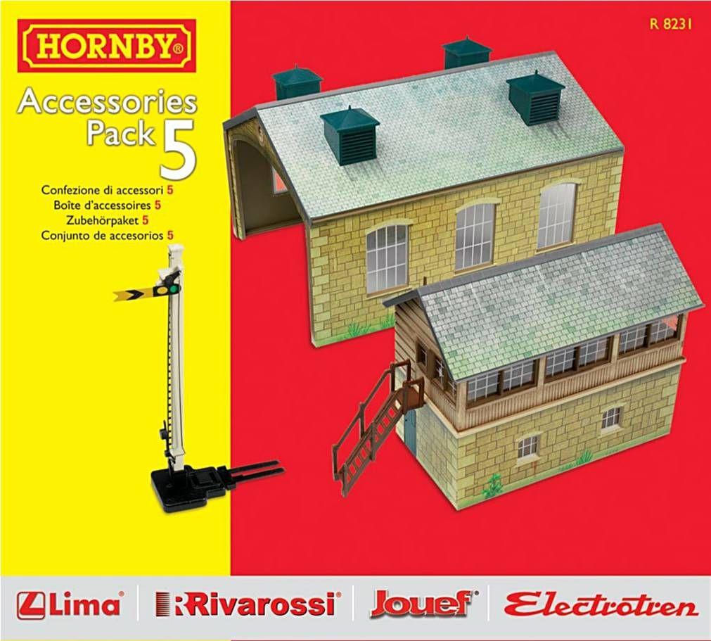 Hornby R8231  TrakMat Accessories Pack 5