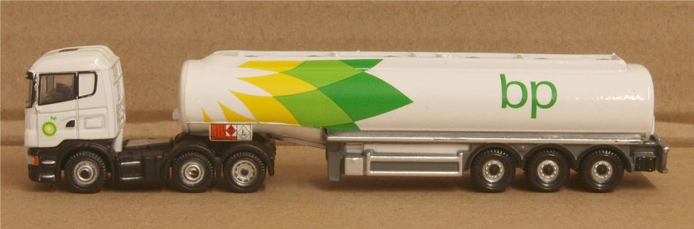 Oxford Diecast NSHL01TK  Scania Highline Tanker BP