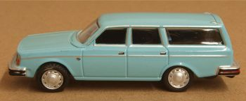Oxford Diecast 76VE003  Volvo 245 Estate Light Blue