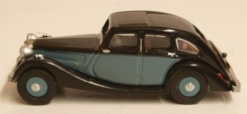 Oxford Diecast 76RK005  Riley Kestrel Blue and Black
