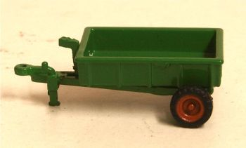 Oxford Diecast NFARM005  Farm Trailer Green