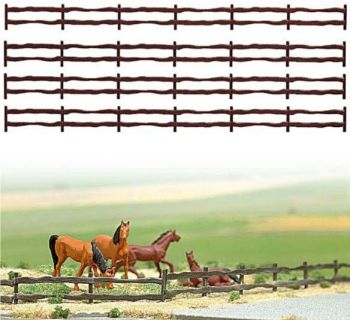Busch 6008  Country Fencing 130cm 'HO'