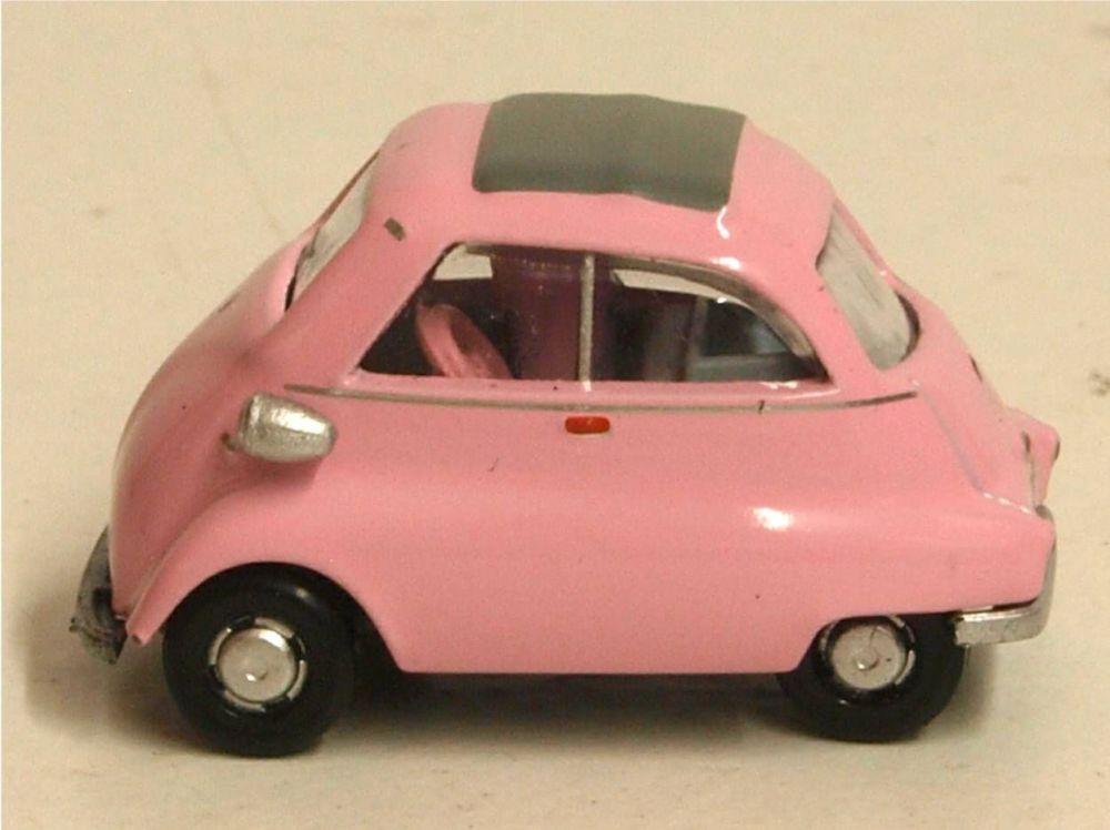 Oxford Diecast 76IS003  BMW Isetta Pink