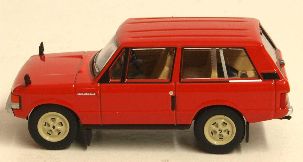 Oxford Diecast 76RCL003  Range Rover Classic Masai Red