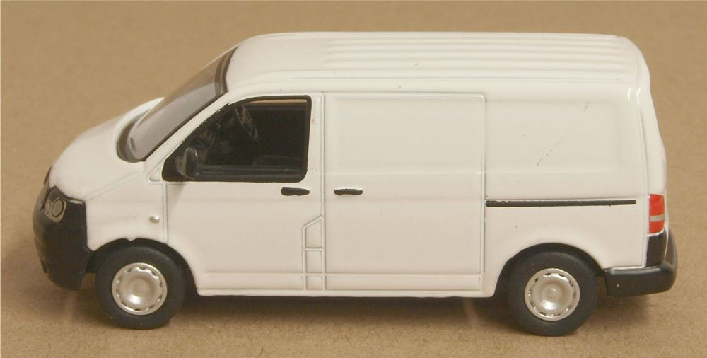 Oxford Diecast 76T5V002  VW T5 Van White