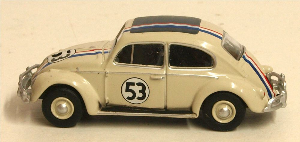 Oxford Diecast 76VWB001  VW Beetle Pearl White 53