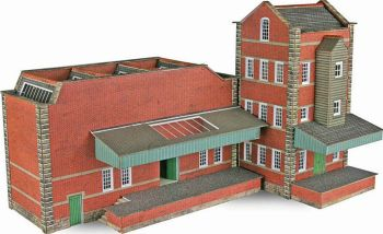 Metcalfe PN183  Small Factory (Brick)
