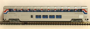 Con-Cor 1-040662  Amtrak Superliners Lounge-Cafe 1:160