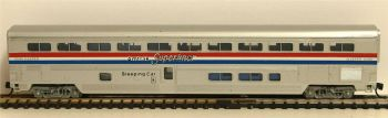 Con-Cor 1-040652  Amtrak Superliners Sleeper Coach 1:160