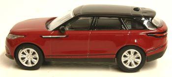Oxford Diecast 76VEL001  Range Rover Velar  Firenze Red